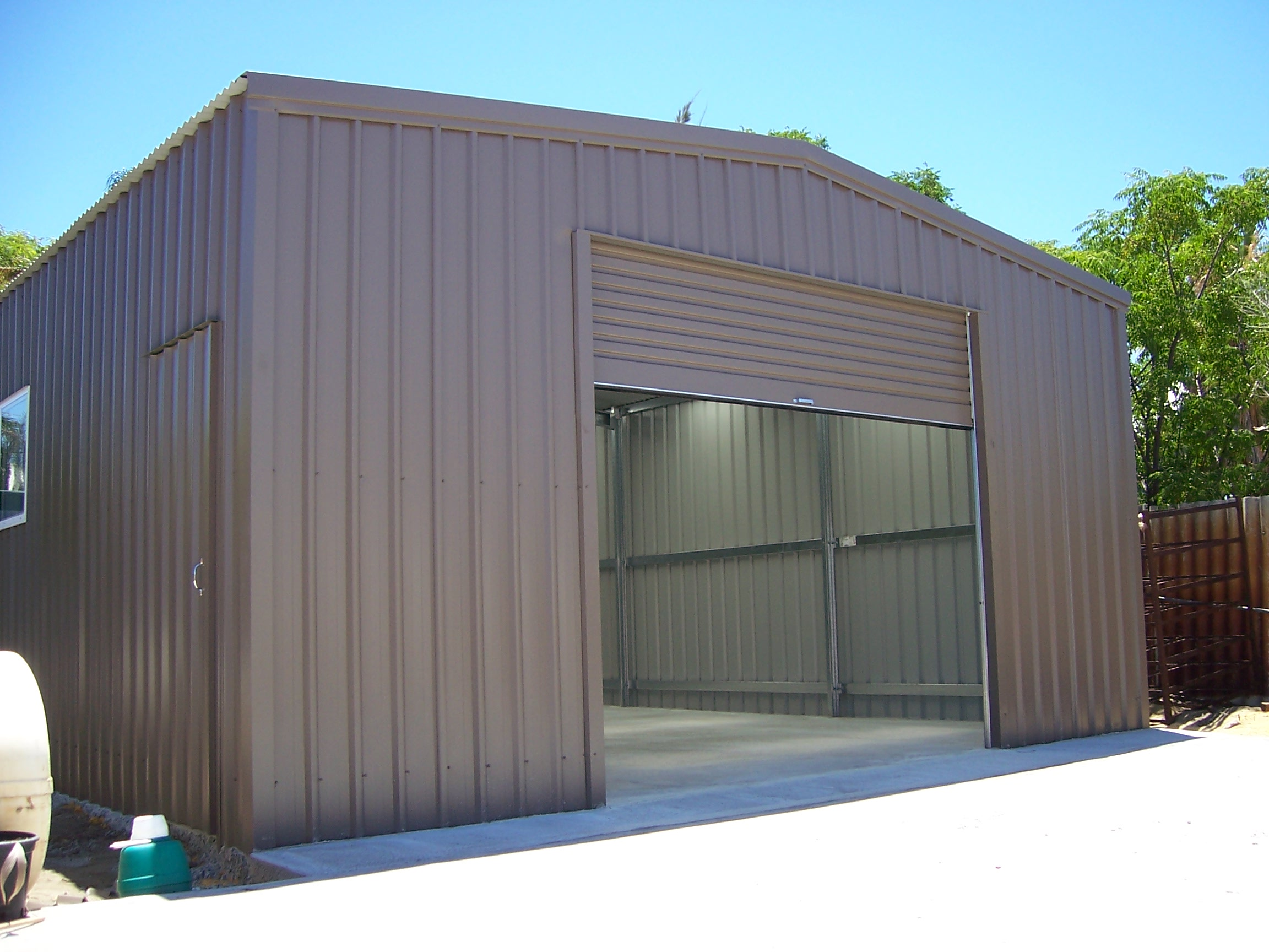 Garage Sheds Perth Australian Made With Colorbond Steel