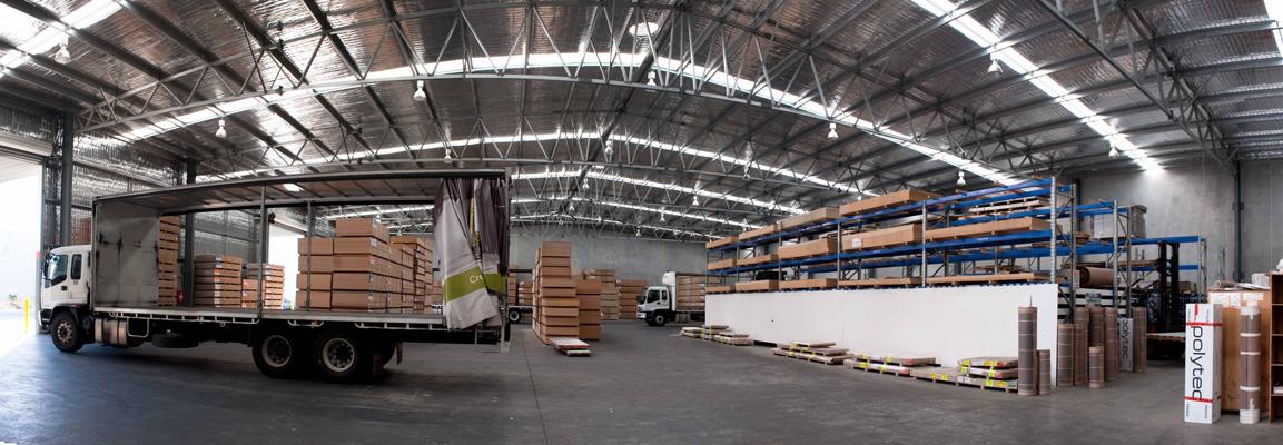 Polytec Display Centre & Warehouse - NWSM